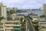 San Juan, district of Santurce, westward to Condado Lagoon