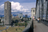 Vancouver, view north from Burrard Bridge