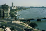 Cairo, bridge over Nile River