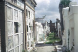 New Orleans, above-ground tombs in St. Louis Cemetery #2