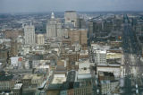 New Orleans, view of city and Canal Street