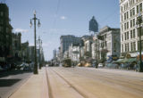 New Orleans, streetcar on Canal Street