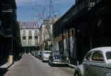 New Orleans, street scene in French Quarter historic district