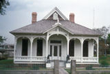 Houston, Pillot House historic home built in 1868