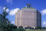 Houston, Shamrock Hilton Hotel exterior