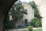 San Antonio, Alamo view through arch