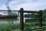 Cleveland, view of historic landing site at Settler's Park