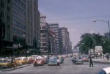 Mexico City, view of Avenida Juarez