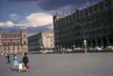 Mexico City, view of Plaza de la Constitución