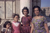 Cairo, women and children posing