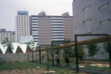 Mexico City, Nonoalco-Tlatelolco housing project courtyard