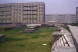 Mexico City, Nonoalco-Tlatelolco housing project and Aztec ruins