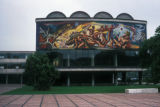 Mexico City, Universidad Nacional de Mexico and Morado's mural