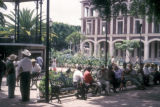 Cuernavaca, people in a plaza