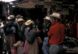 Toluca de Lerdo, buyers and sellers at the market