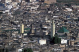 Fez, panoramic view of city and Mosque of al-Qarawiyyin
