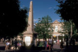 Santa Fe, monument in Santa Fe plaza