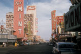 Las Vegas, view of Fremont street