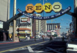 Reno, view of downtown
