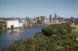 Saint Paul, view of Mississippi River and downtown