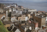 Quebec City, view of Lower Town