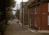 Quebec City, residential street in Upper Town