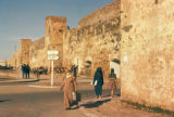 Rabat, street scene outside city walls