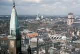 Copenhagen, view of downtown from City Hall