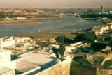 Rabat, panoramic view of harbor