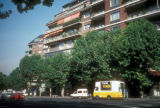 Madrid, Hill of San Vicente apartment buildings