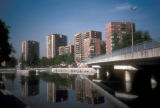 Madrid, apartments overlooking Manzanares River
