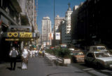 Madrid, Gran Via, major shopping street