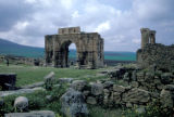 Volubilis, view of ancient Roman arch