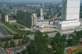 Rotterdam, view of city from Euromast