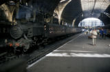 London, steam locomotive at Paddington Station