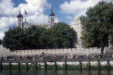 London, Tower of London on the River Thames