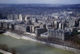 Paris, view of city from Eiffel Tower