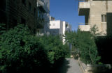 Jerusalem, apartment buildings in Rehavyah neighborhood