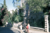 Jerusalem, children playing on residential street