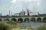 Minneapolis, Stone Arch Bridge and Pillsbury Mill