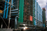 Paris, exterior of Georges Pompidou Center