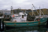 Reykjavik, fishing boat in harbor