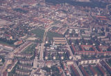 Munich, aerial view of residential area