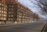 Hamburg, view of residential street