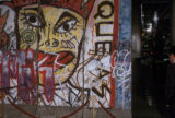 Paris, Berlin Wall on display