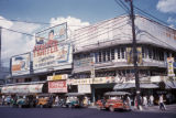 Manila, jeepneys parked along Escolta Street