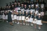 Manila, graduation ceremonies for school children