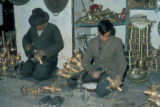 Tehran, brass workers
