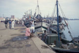Luanda, fishing boats in harbor