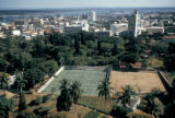 Maputo, view of tennis courts